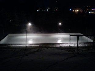 Hockey Ice Rink Example