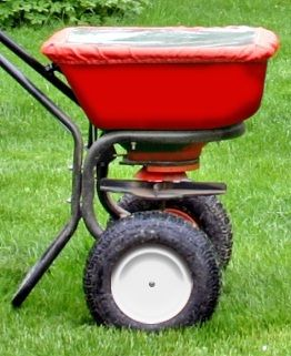 small rotary spreader