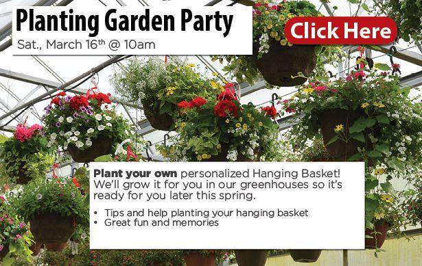 garden party, march 16